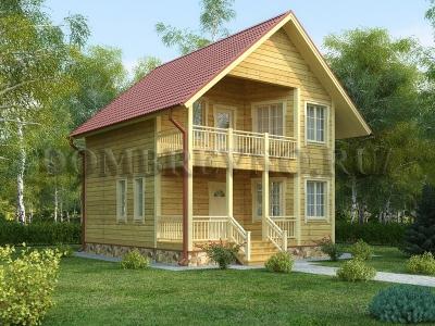 Дом из бруса №166 Булан