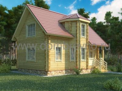 Дом из бруса №99 Салют