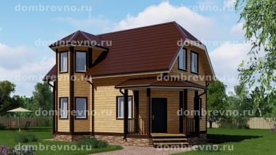 Дом из бруса 2