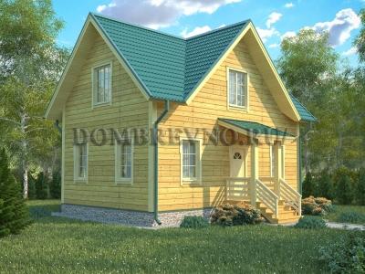 Дом из бруса №147 Атлант