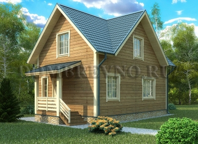 Дом из бруса №119 Шаен