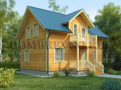 Дом из бруса №162 Химки