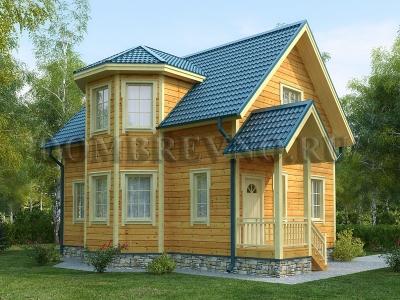 Дом из бруса №159 Рада