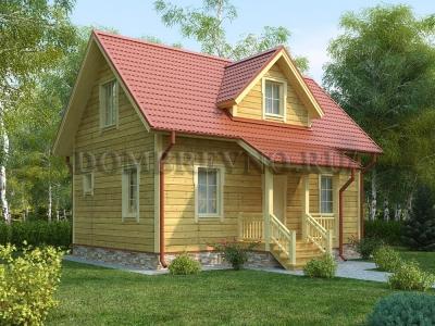 Дом из бруса №155 Небесный