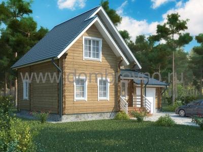 Дом из бруса №105 Грэтта