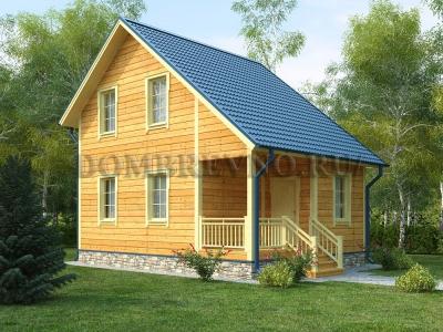 Дом из бруса №153 Каравелла