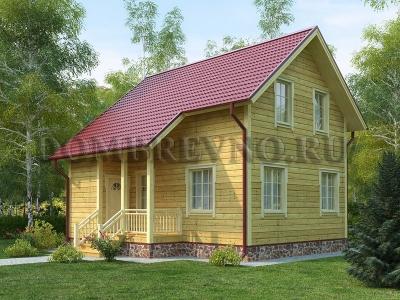 Дом из бруса №157 Клонд
