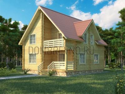 Дом из бруса №113 Дэвдас