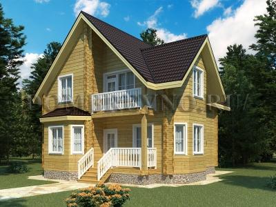 Дом из бруса №169 Юта