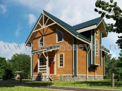 Дом из бруса Граф