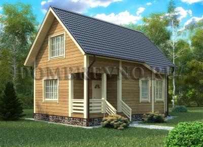 Дом из бруса №132 Дамир