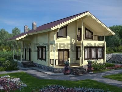 Дом из бруса №182