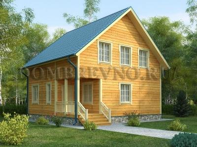 Дом из бруса №164 Берий