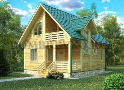Дом из бруса №116 Сэмли