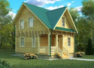 Дом из бруса №125 Кофич