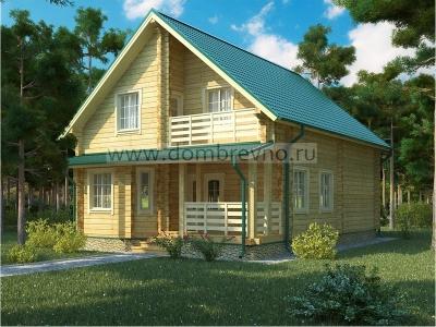Дом из бруса №83 Селика