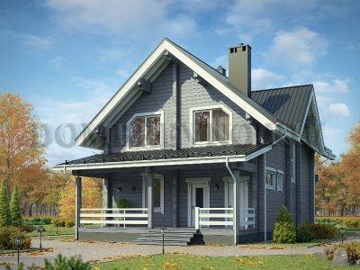 Дом из бруса №170 Риф