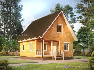 Дом из бруса №132
